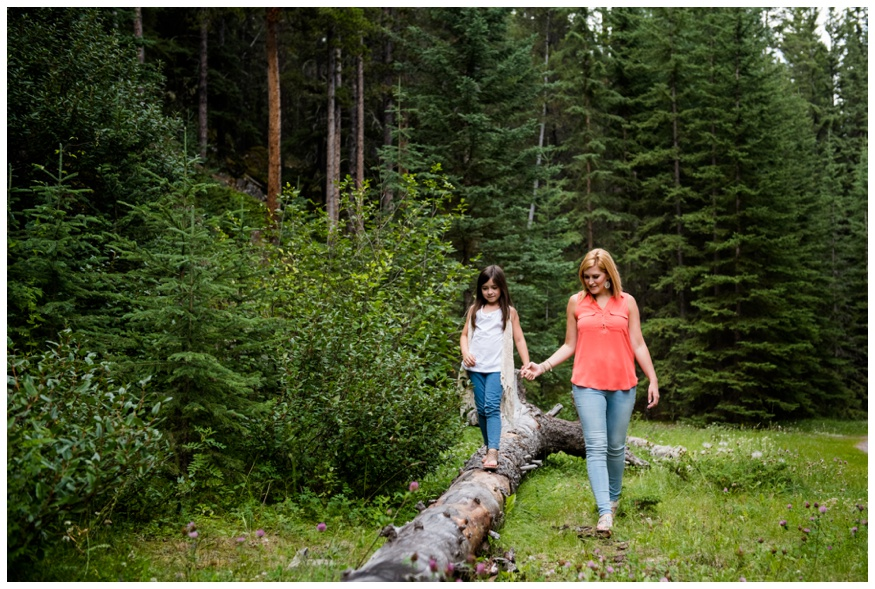 Banff Mother & Daughter Family Photography