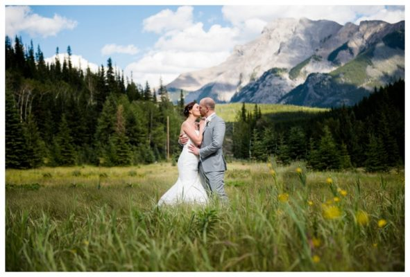 Rimrock Resort Hotel Penthouse Wedding – Banff Wedding Photographer