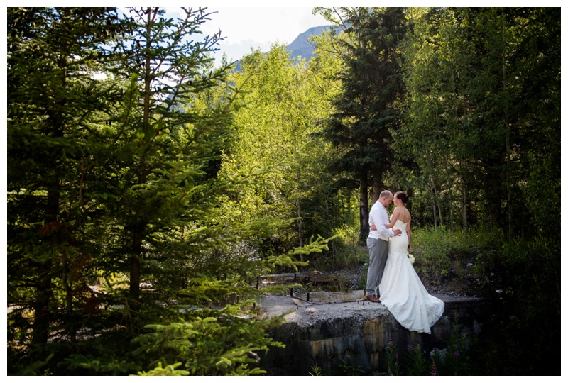 Mountain Wedding Photography Banff Alberta