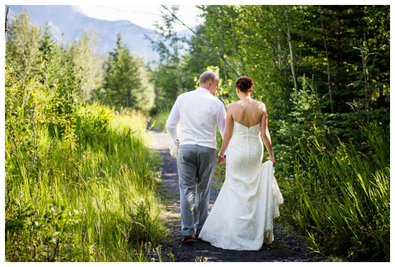 Mountain Wedding Photos Banff