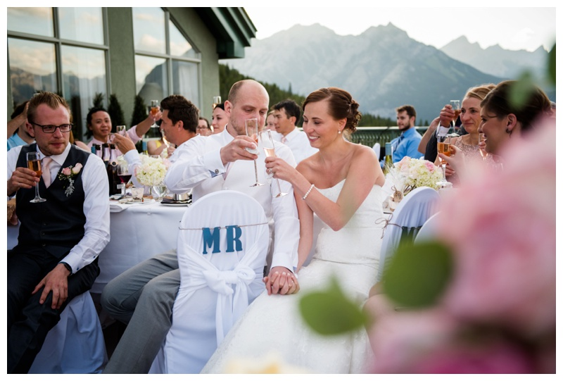 Penthouse Wedding Rimrock Resort Banff
