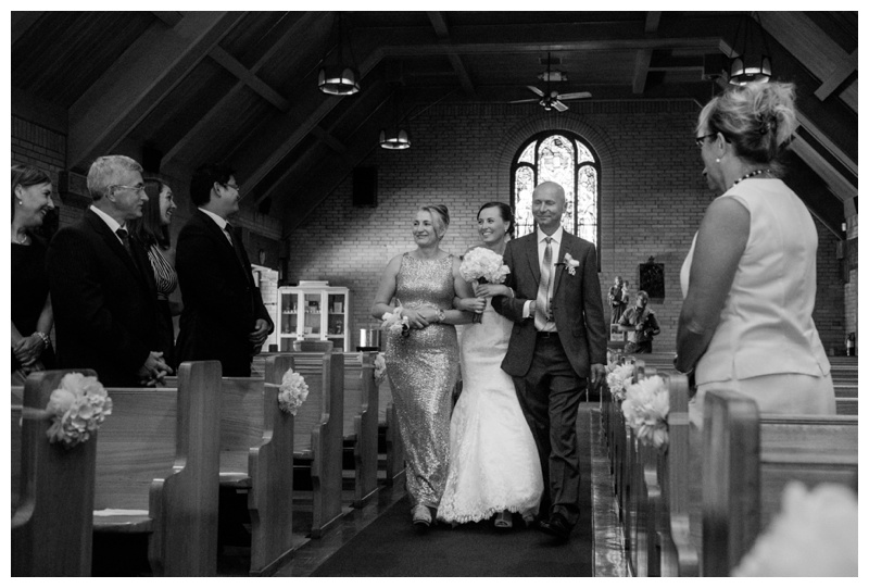 Banff Catholic Church Wedding Ceremony