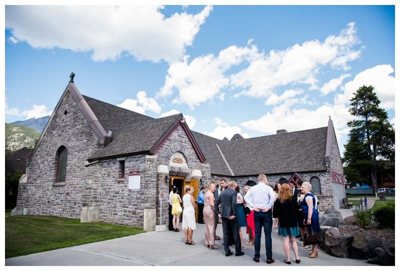Saint Mary's Parish Wedding Banff