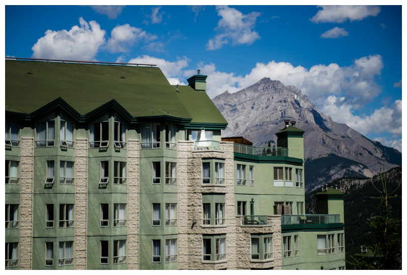 Rimrock Resort Wedding Banff Alberta
