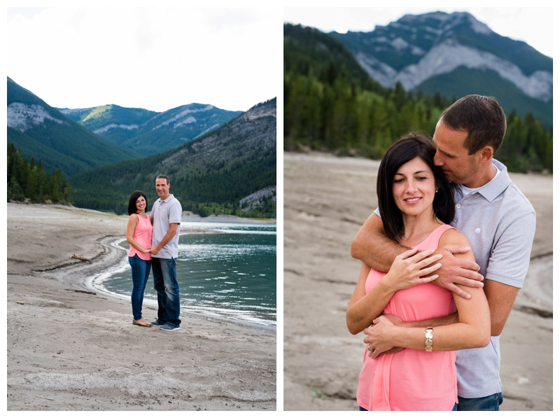 Barrier Lake Couple Session Kananaskis