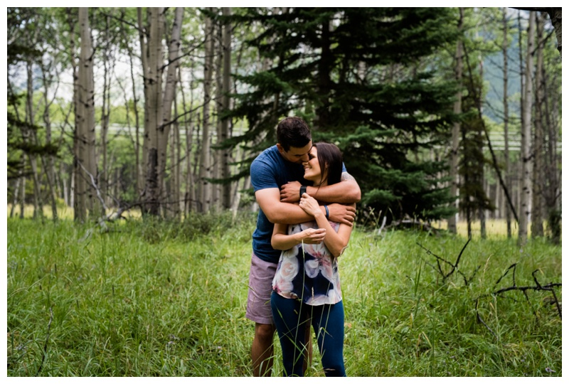 Canmore Engagement Photography Session