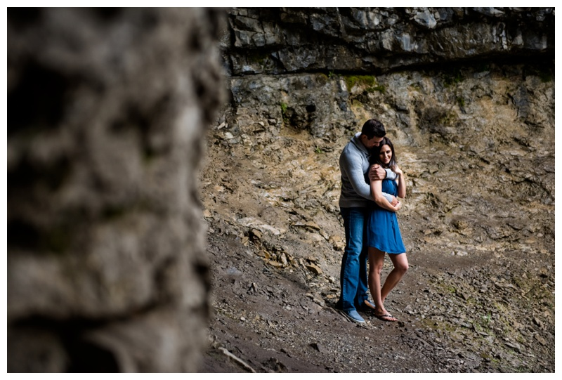 Troll Falls Kananaskis Engagement Session