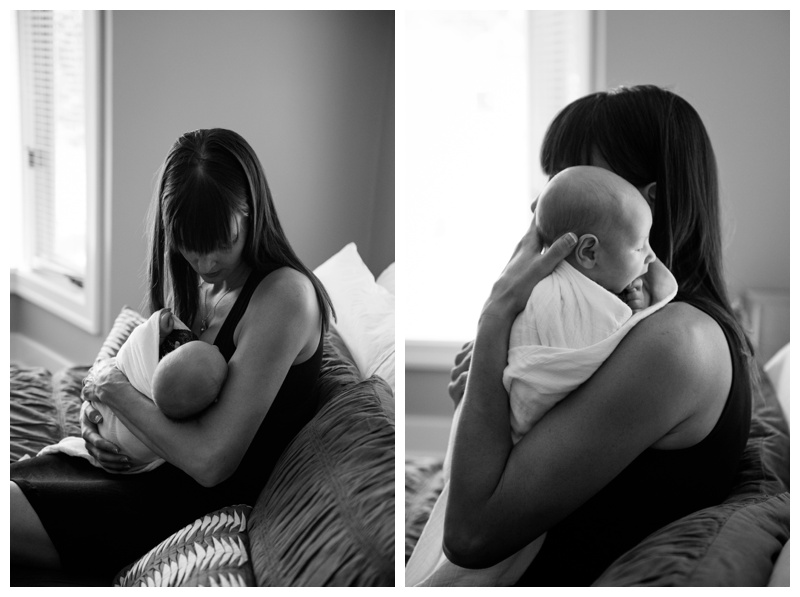At Home Calgary Newborn Photography