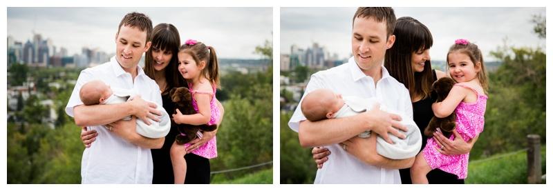 Calgary Lifestyle Newborn Photos