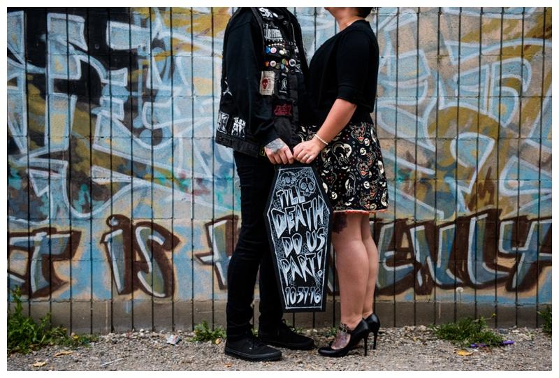 Calgary Urban Engagement Photography