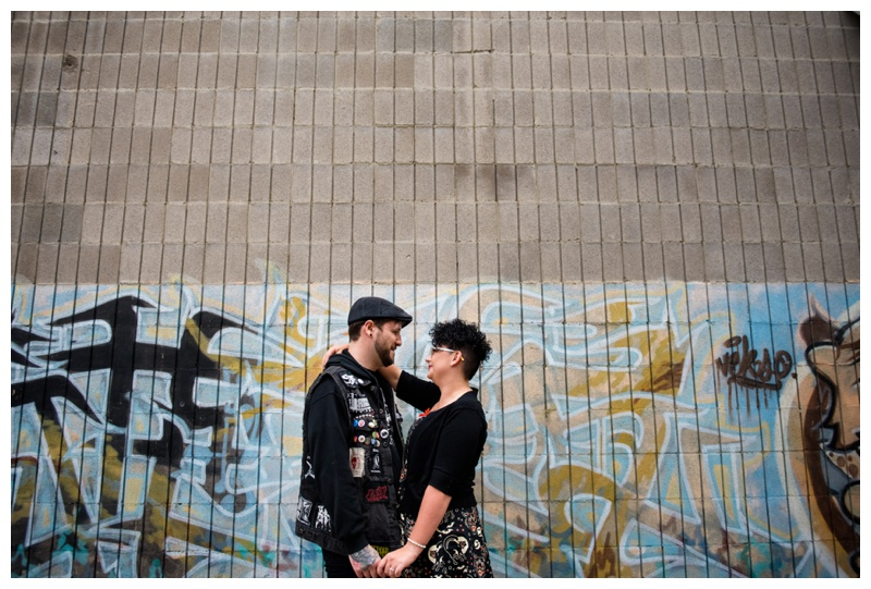 Calgary Downtown Engagement Photography