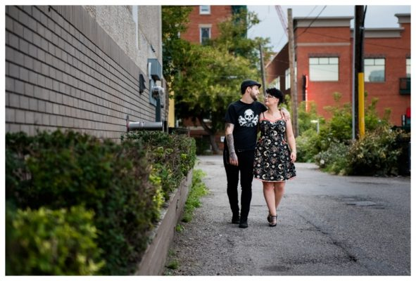 Downtown Calgary Engagement Photography – Rob+Alicia