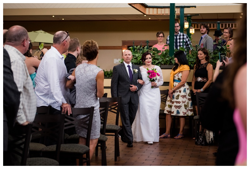 Glenmore Inn Wedding Ceremony Calgary