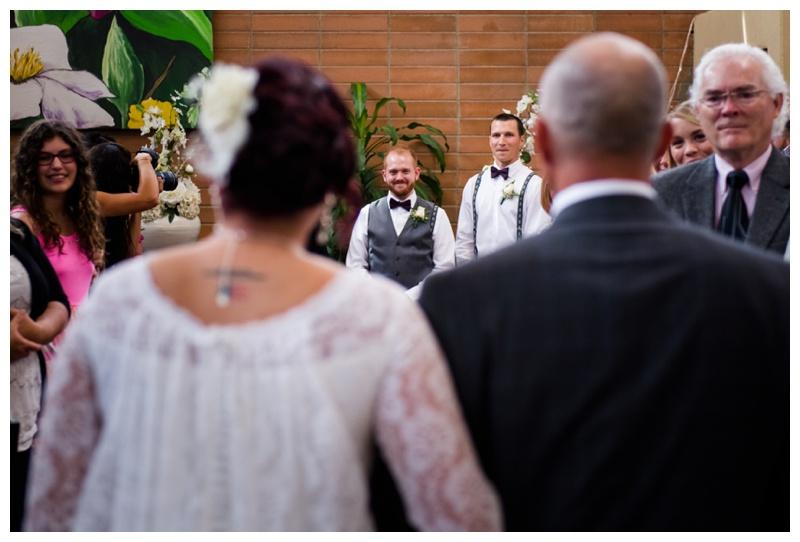 Calgary Hotel Wedding Ceremony
