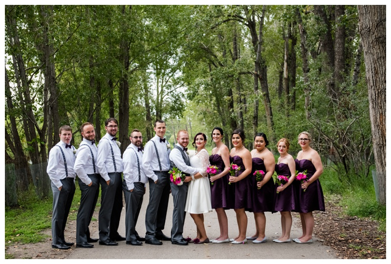Calgary Bridal Party Photography