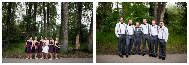 Wedding party Photography Calgary Alberta