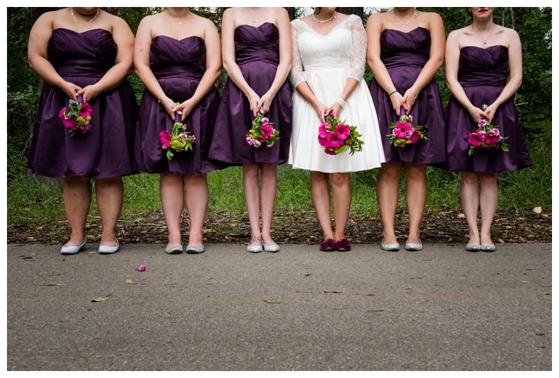Purple Bridesmaid Dresses Calgary