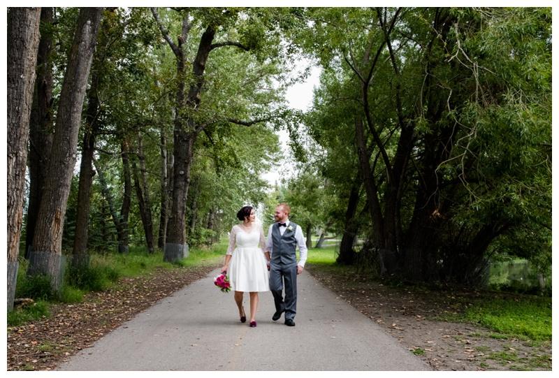 Calgary Carbrun Park Wedding Photography