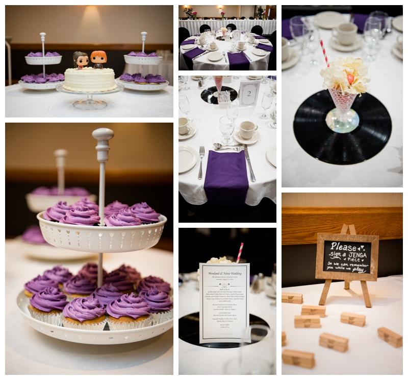 Glenmore Inn Calgary Wedding reception
