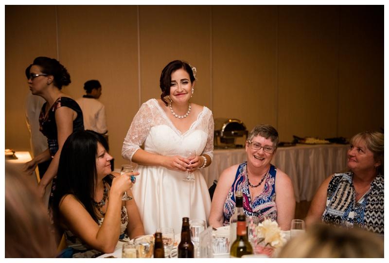 Calgary Wedding Reception Glenmore Inn