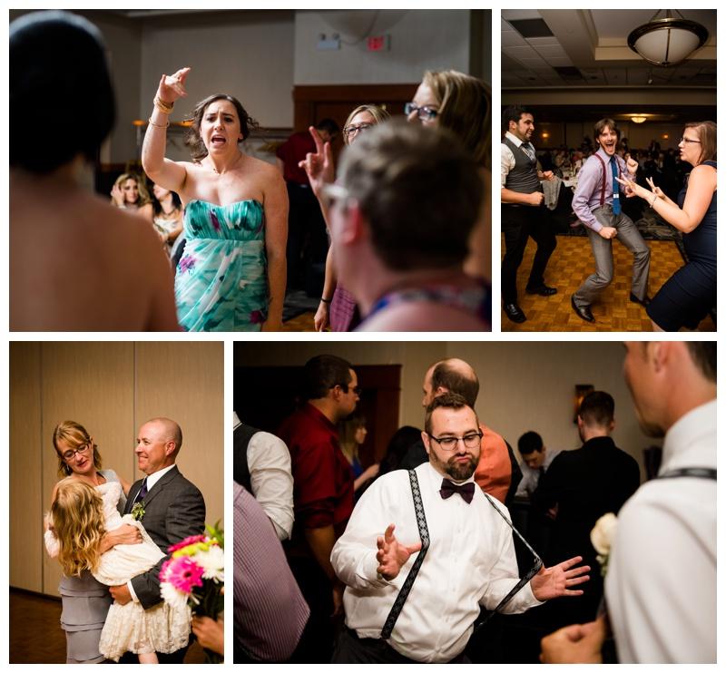 Dance Party Wedding Photos Calgary