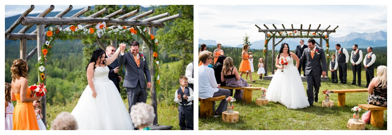 Outdoor Wedding Ceremony Hinton