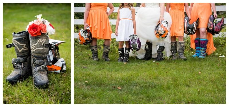 Dirt Bike Wedding Photography