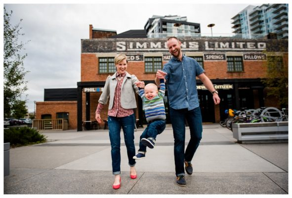Calgary East Village Family Photography – Calgary Family Photographer