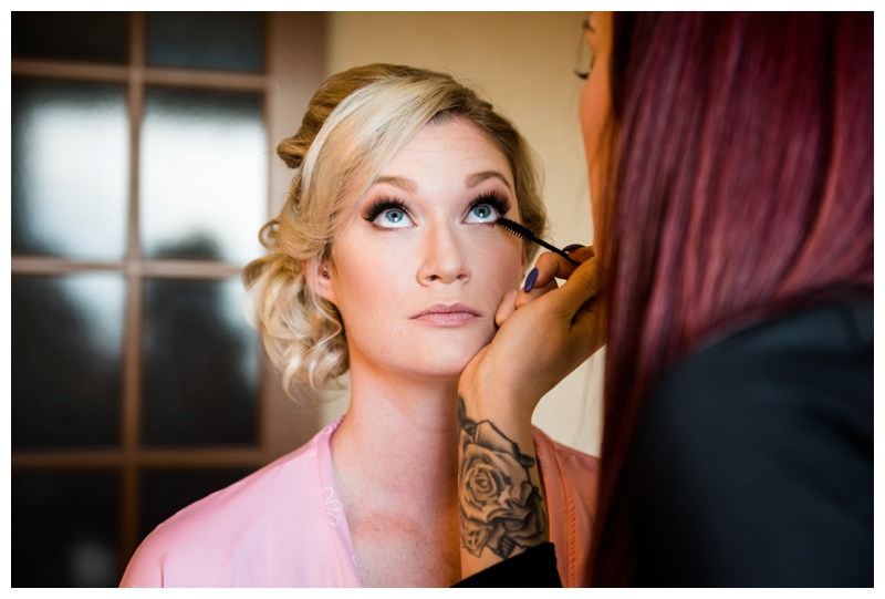 Bridal Prep Wedding Photography Calgary