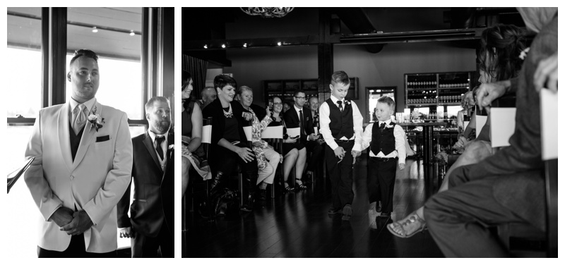 Calgary Restaurant Wedding Ceremony