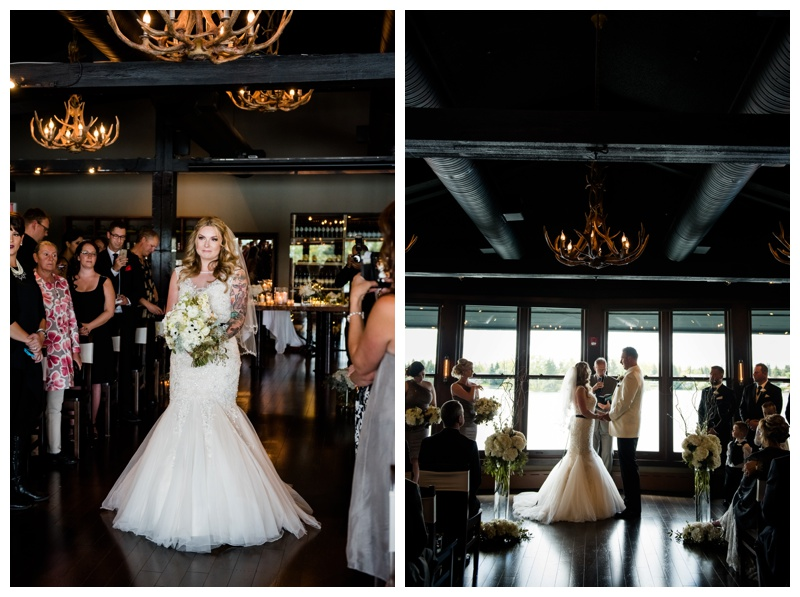 Calgary Lake House Wedding