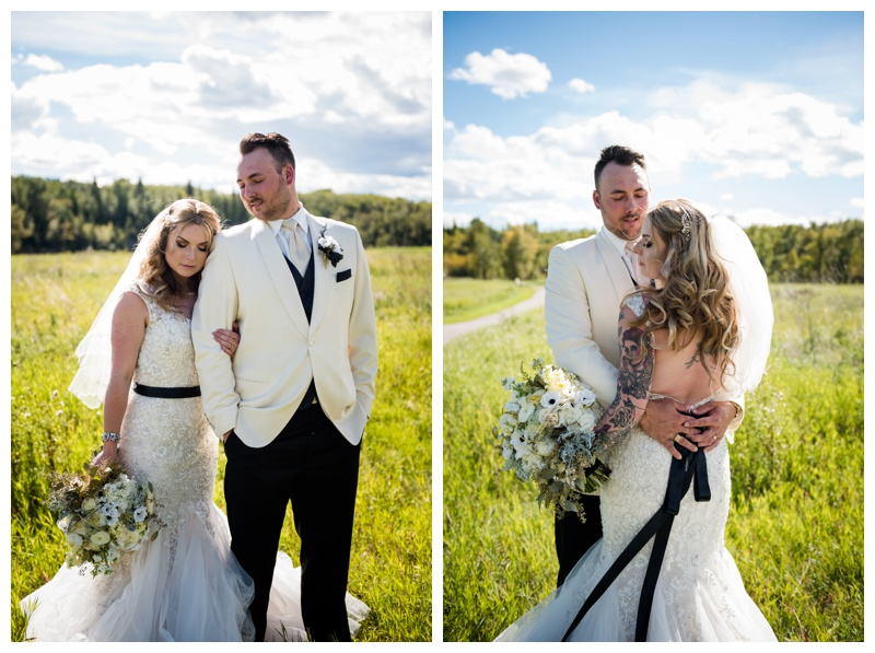 Calgary Fish creek Wedding Photography