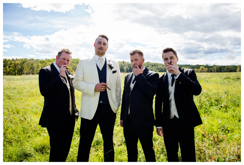 Groomsmen Wedding Photography Calgary