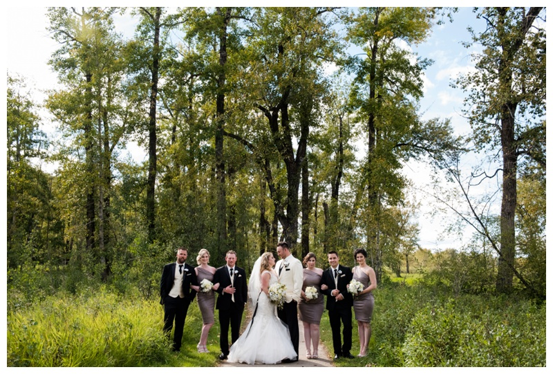 Calgary Bridal Party Wedding Photos