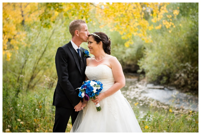 Calgary Fall Wedding Photos