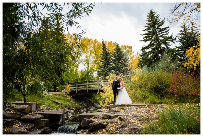 Fall Wedding Photos Calgary
