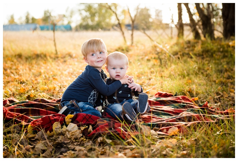 Fall Family Session Calgary Alberta
