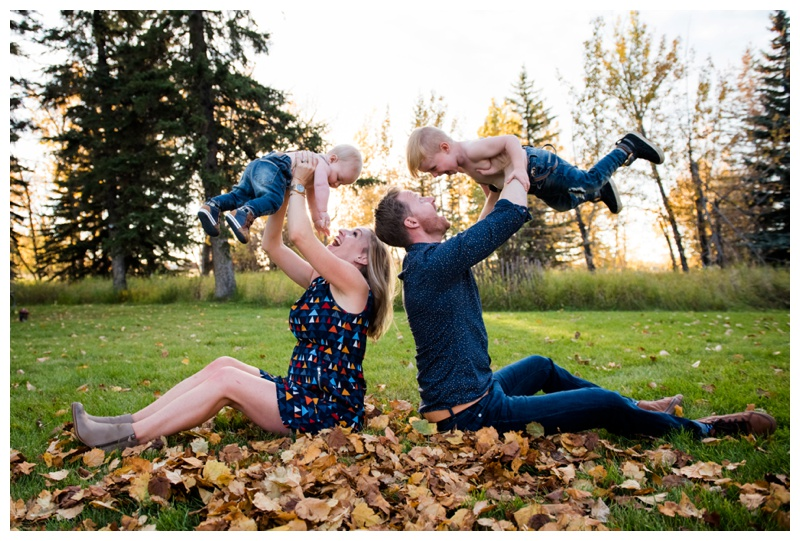 Fall Family Photography Calgary