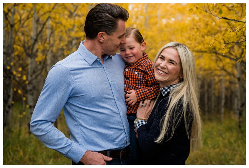 COP Fall Family Session Calgary