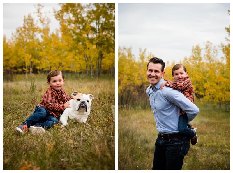 Dad and Son Family Photographer Calgary
