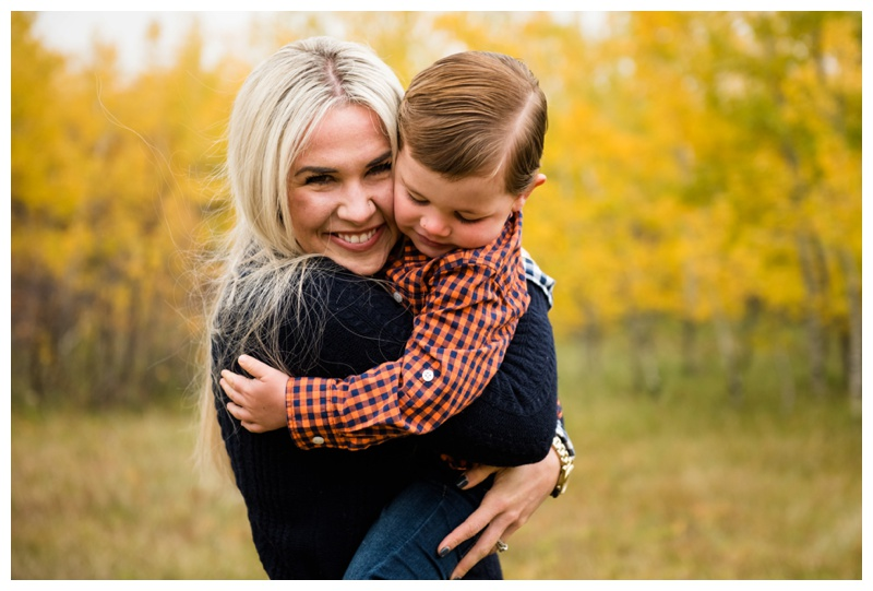 Mother & Son Family Photos Calgary