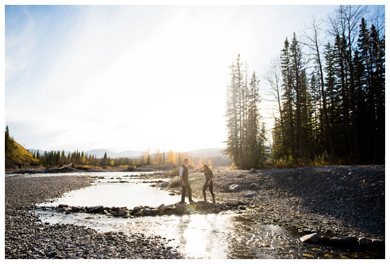 Bragg Creek Alberta Engagement Session