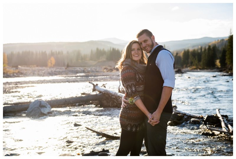 Engagement Session Bragg Creek Alberta