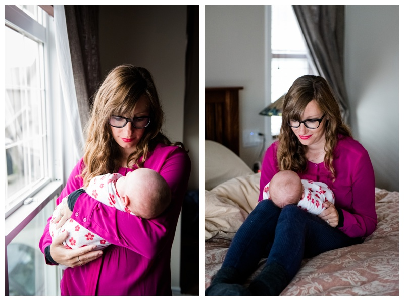 In Home Newborn Photos Cochrane