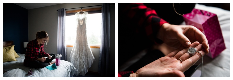 Bridal Prep Wedding Photography Okotoks