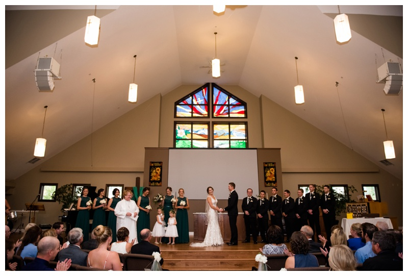 Calgary Wedding Ceremony Photography