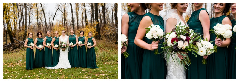 Bridesmaid Photos Calgary Alberta