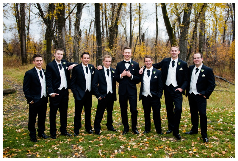 Groomsmen Photography Calgary