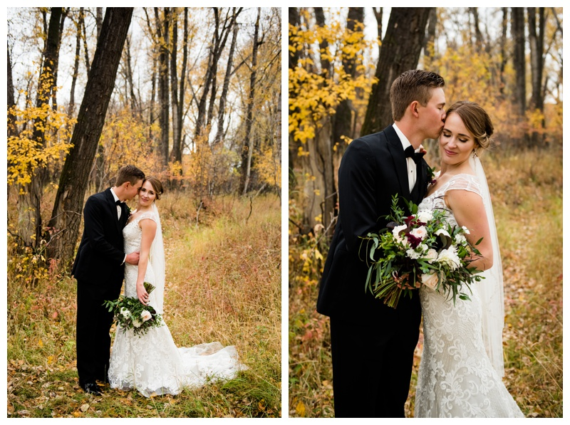 Fall Wedding Calgary Alberta