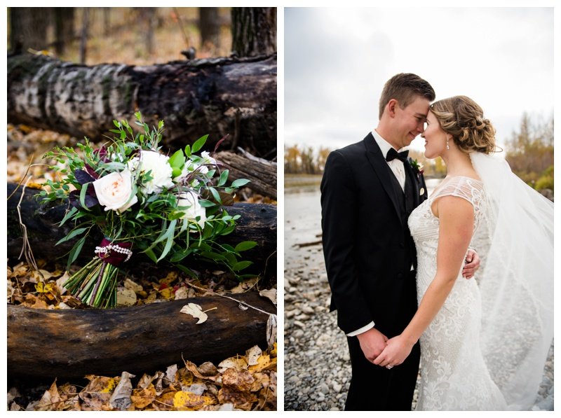 Autumn Calgary Wedding Photography